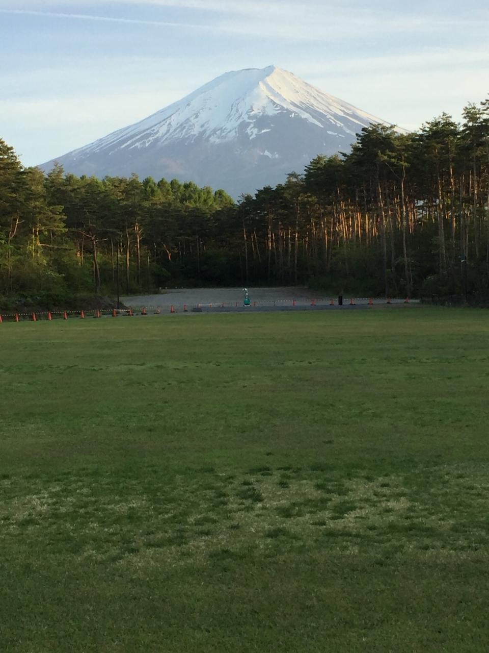 晴れた日は富士山が目の前